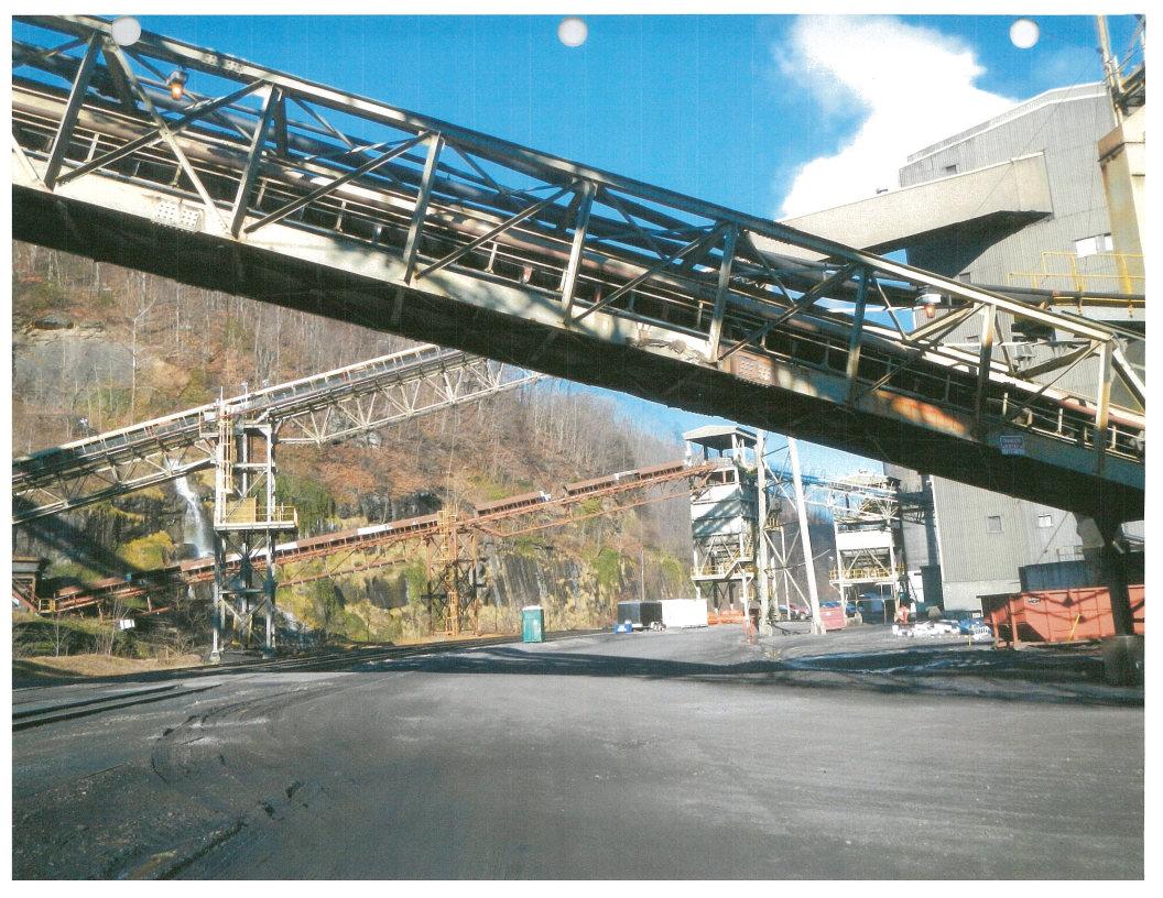Buchanan Mine Refuse Conveyor Reinforcement Project 1