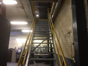 New Stairs to Electrical Area
