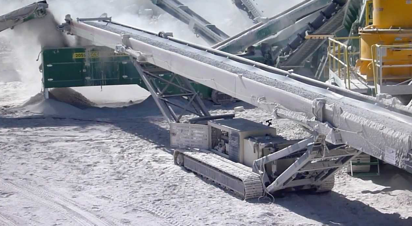 Industrial Overland Conveyor