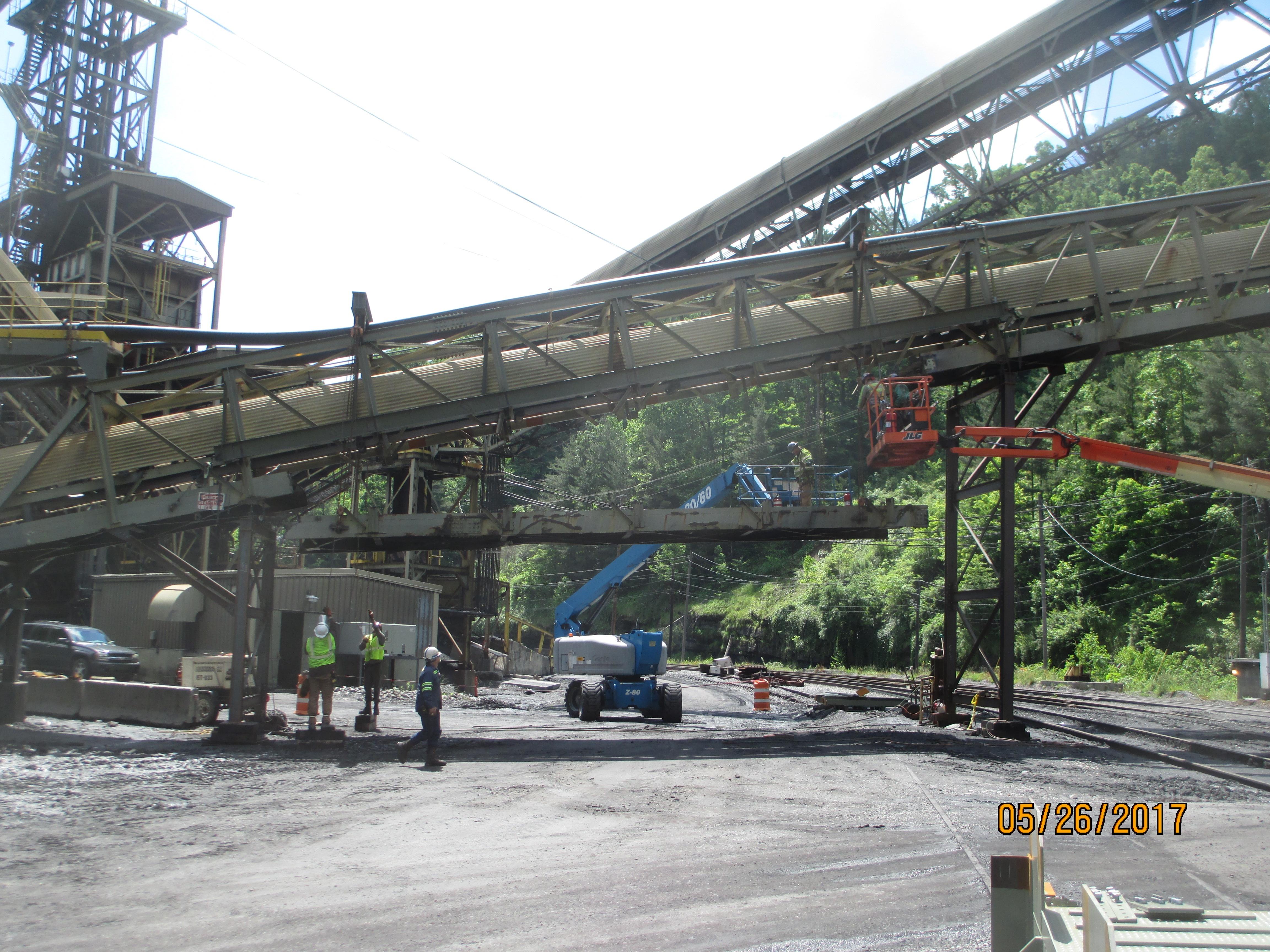 Refuse Conveyor Reinforcement Project