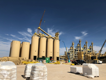 frac sand plant