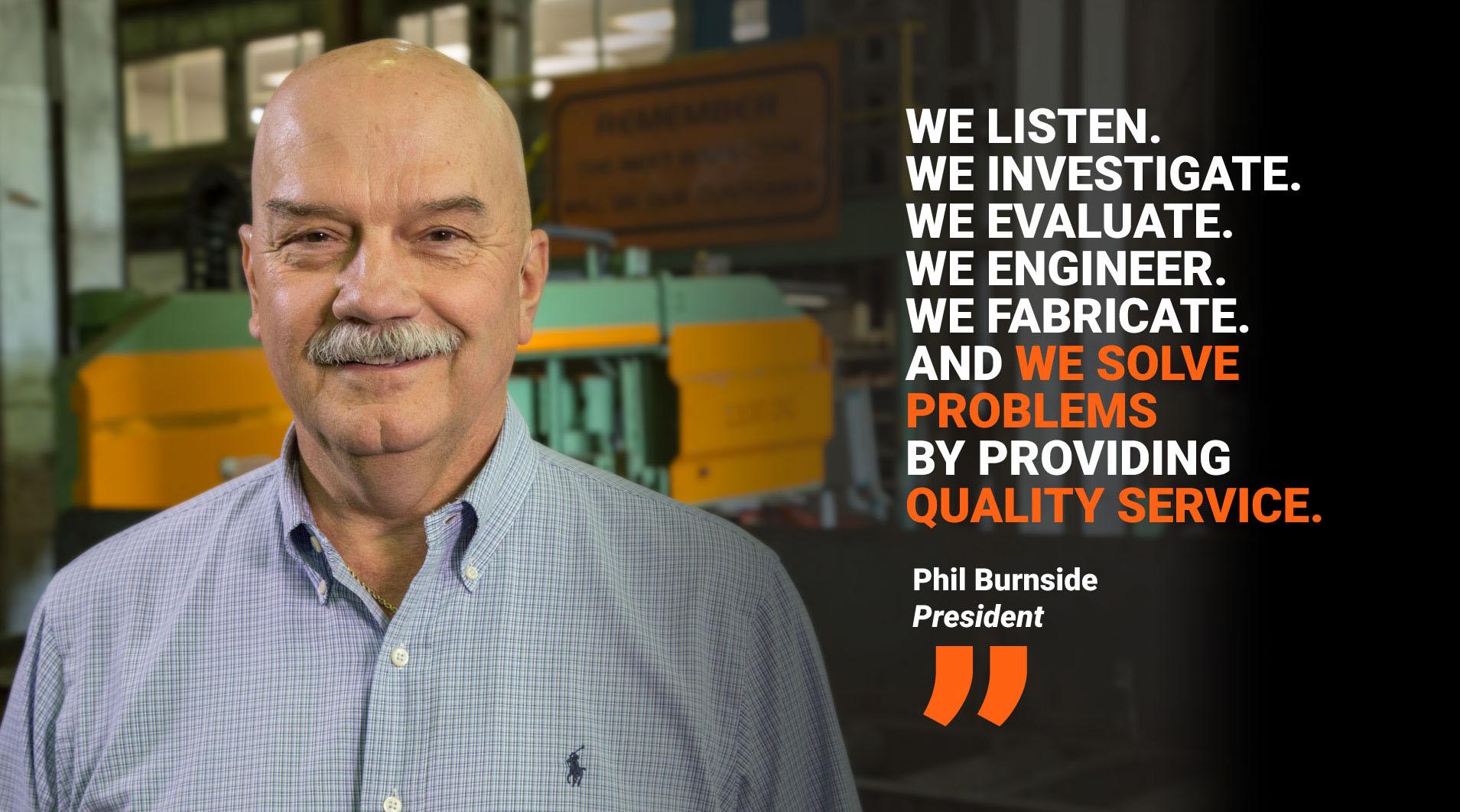 Phil Burnside - President